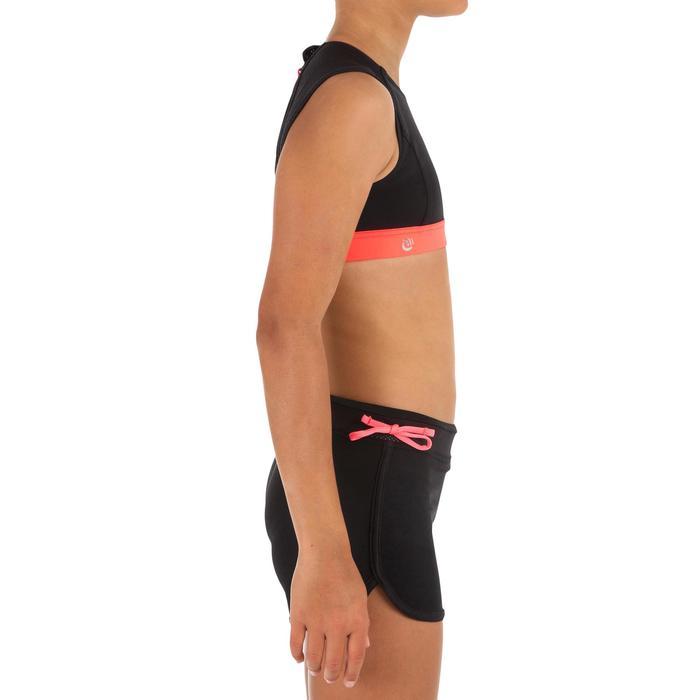 Top Bikini Surf olaian Backzip Bella Niña Negro