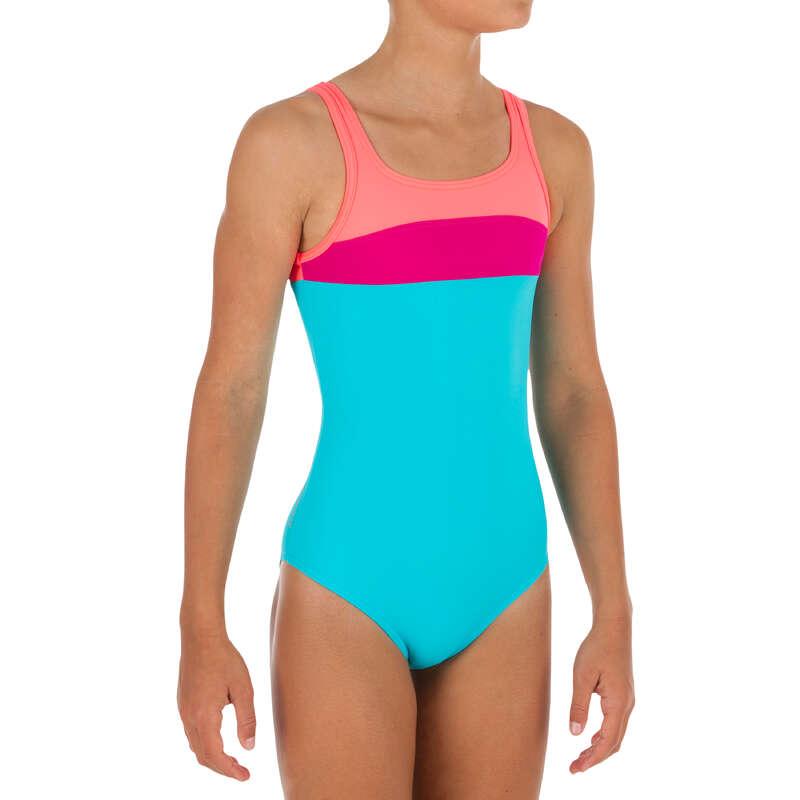 COSTUM DE BAIE FATĂ Surf, Bodyboard, Wakeboard - Costum de Baie Întreg HOLOO  OLAIAN - Costume de baie, Protectii Solare, Papuci