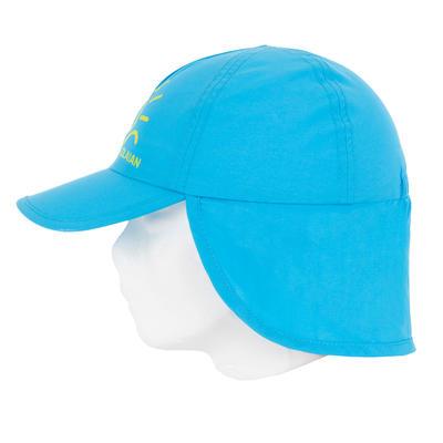 CASQUETTE anti UV surf bébé bleu