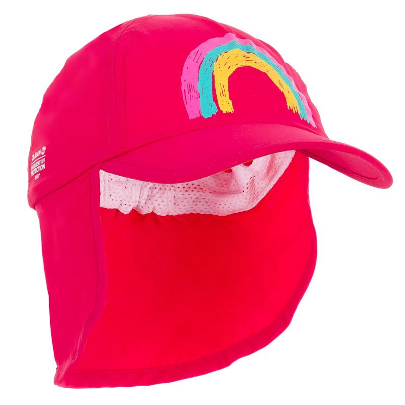 Baby UV Protection Surfing Cap - Pink