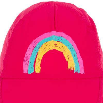 CASQUETTE anti UV surf bébé rose