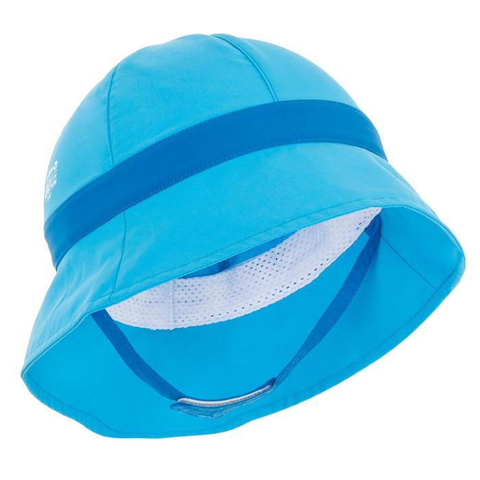 Gorro anti-UV surf bebé Azul Nabaiji  307a544163e