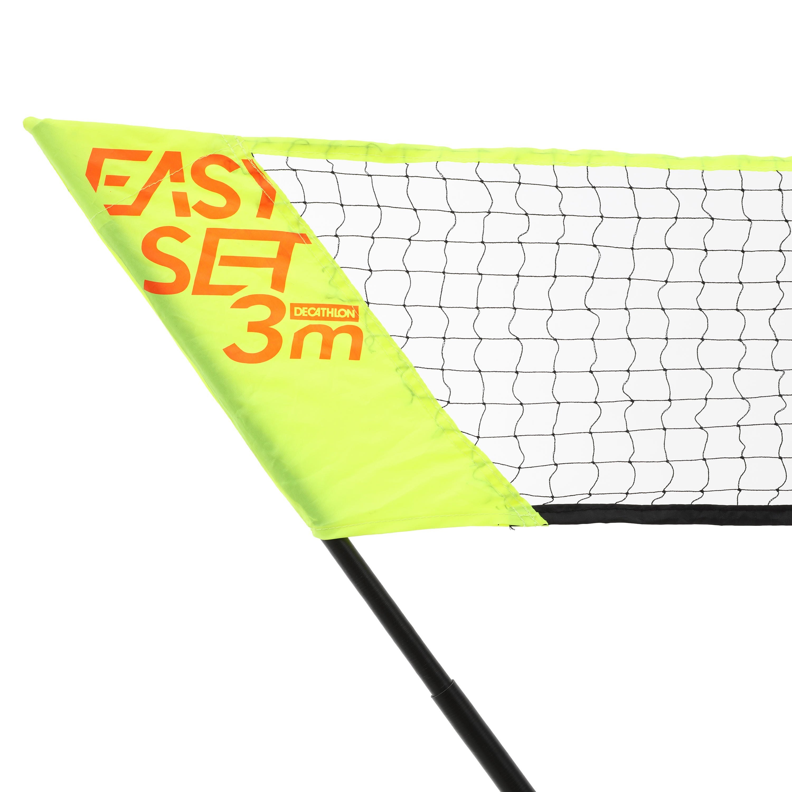 Easy Set 3 m Net and Racket Set - Yellow