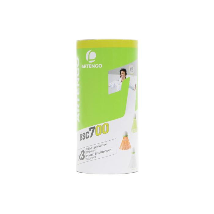 BSC700 Badminton Shuttle Medium 3-Pack - 1306342