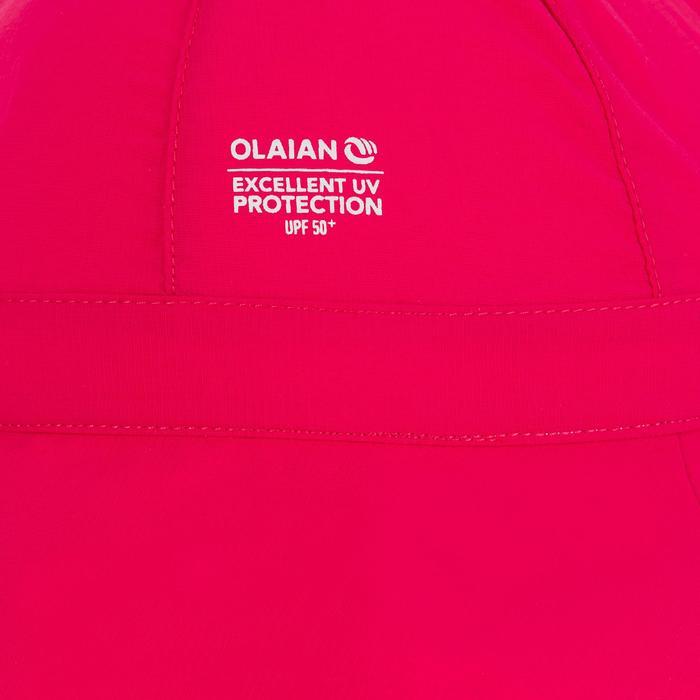 Chapeau anti UV surf bébé rose