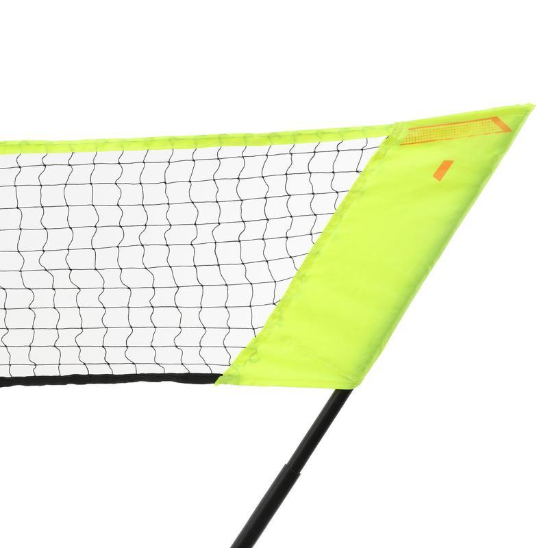 bf8084ef8b Kit badminton rete + 2 racchette EASY SET DISCOVER giallo