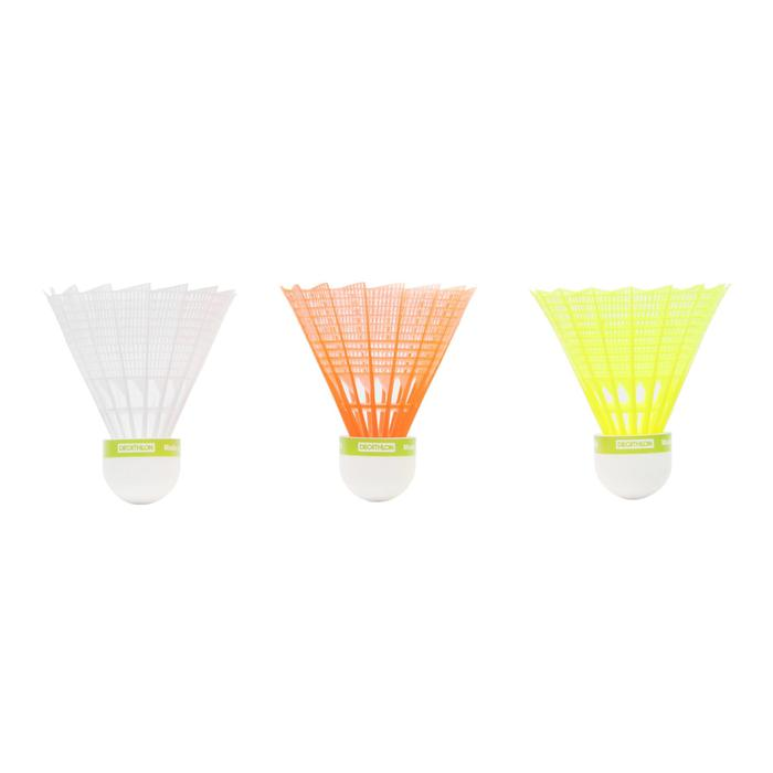 BSC700 Badminton Shuttle Medium 3-Pack