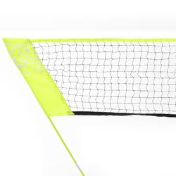 BADMINTON EASY NET DISCOVER YELLOW