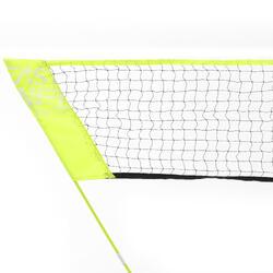 Badmintonnet Easy Net Discover geel