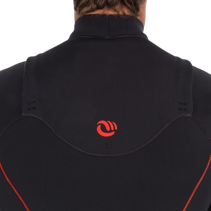 Neoprenanzug Surfen 900 3/2mm Brust-RV Herren schwarz
