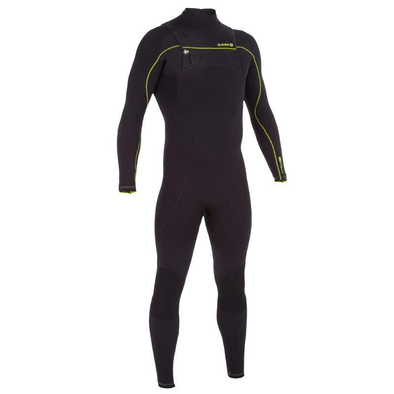 Neoprének 12 - 17 fok között Strand, szörf, sárkány - Férfi szörfoverall 900-as OLAIAN - Bikini, boardshort, papucs