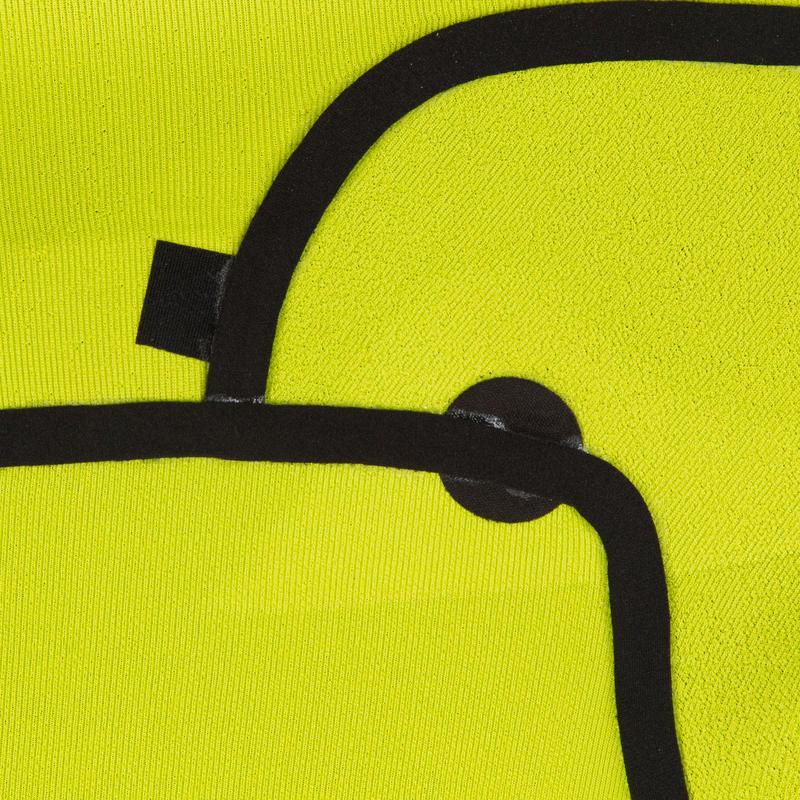 Combinaison Surf 900 Néoprène 4/3 mm Zip Poitrine Homme Noir