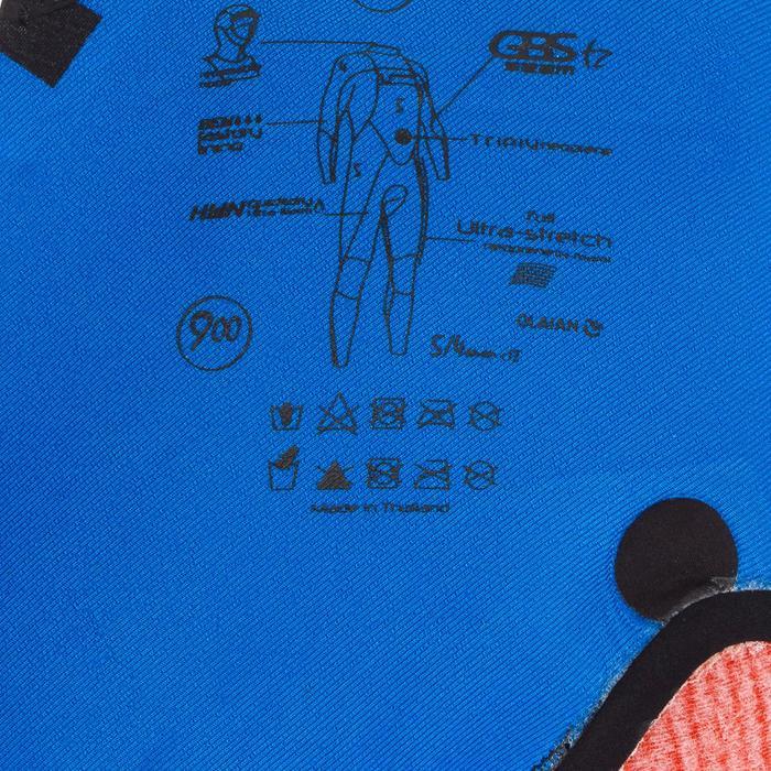 Combinaison Surf SWITCH 900 Néoprène 5/4 mm Homme Noir - 1306523
