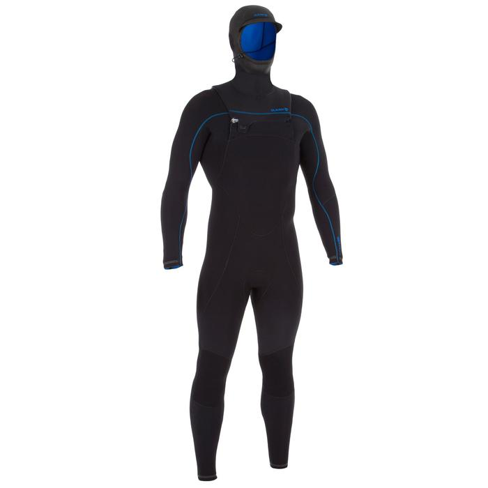 Heren wetsuit Switch 900 neopreen 5/4 mm zwart