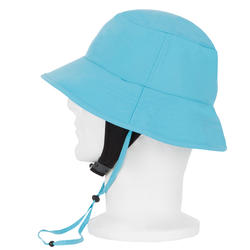 Chapeau surf anti-UV enfant bleu