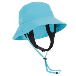 Uv-werend hoedje voor kinderen blauw