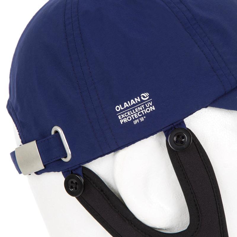 Children s UV Protection Surfing Cap - Blue  d44e7884ea7d