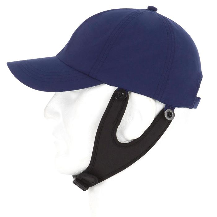 Casquette surf anti UV enfant bleu