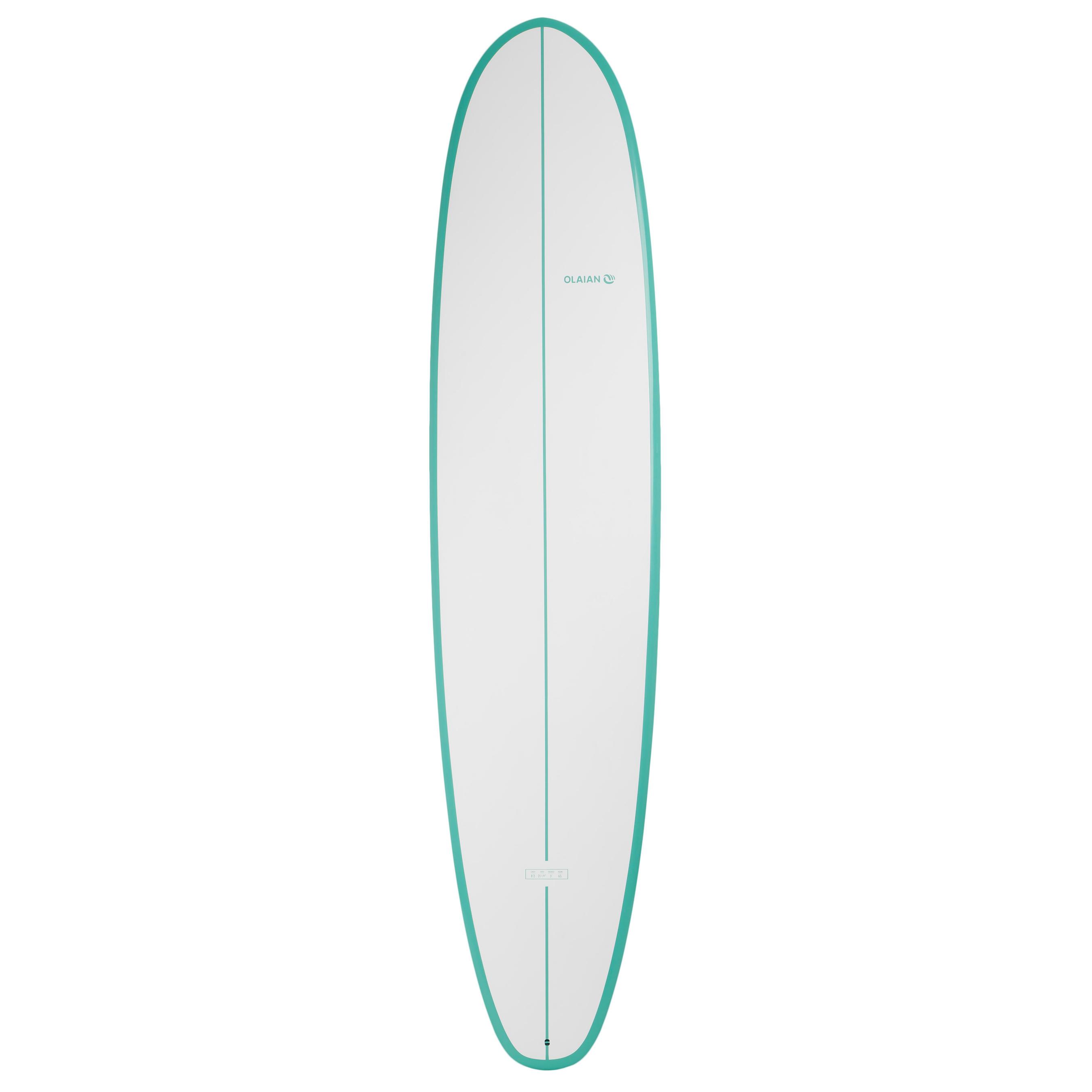olaian planche de surf 500 8 39 2 mini malibu sandwich epoxy. Black Bedroom Furniture Sets. Home Design Ideas