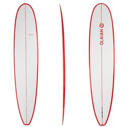 500 Longboard Surfboard 9' with FCS Fins.