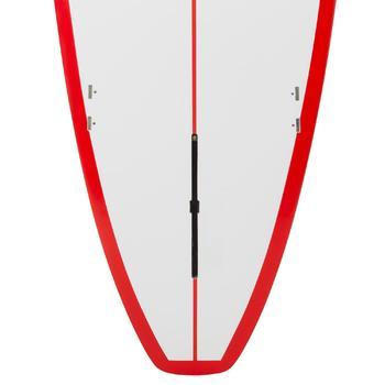 Planche de surf Longboard 500 9'  avec ailerons FCS. - 1306595