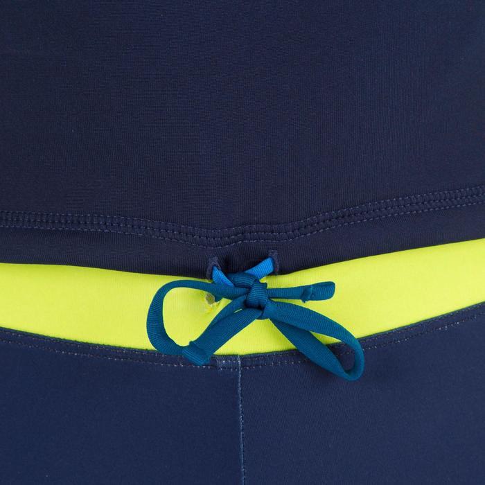 UV-Schutz-Shirt Fleece Surfen Kinder blau