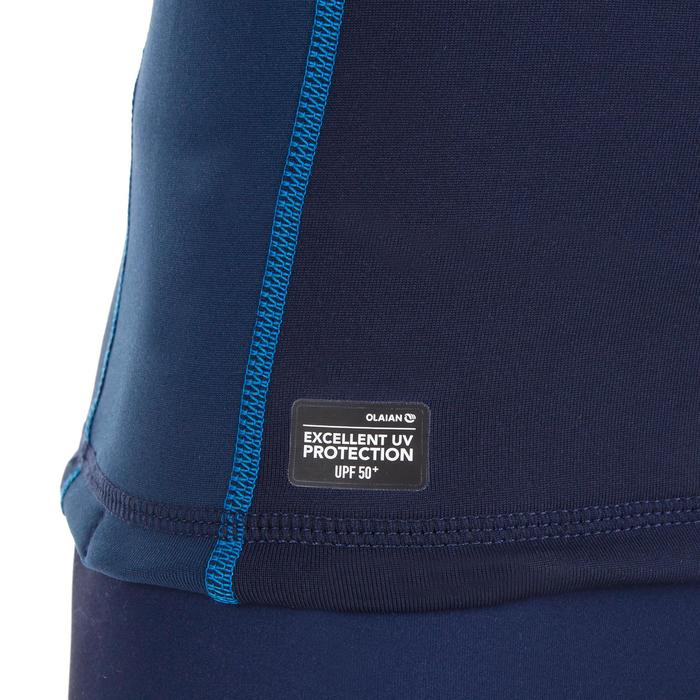 tee shirt anti UV surf top thermique polaire manches longues enfant - 1306630