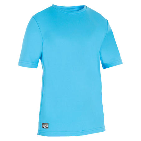 Kids' Surfing anti-UV water T-shirt - blue