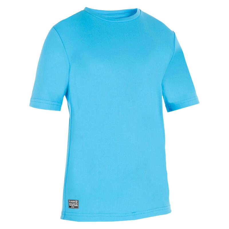 Kids' Surfing anti-UV water T-shirt - blue