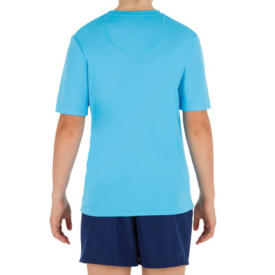 Water tee shirt anti UV surf enfant bleu
