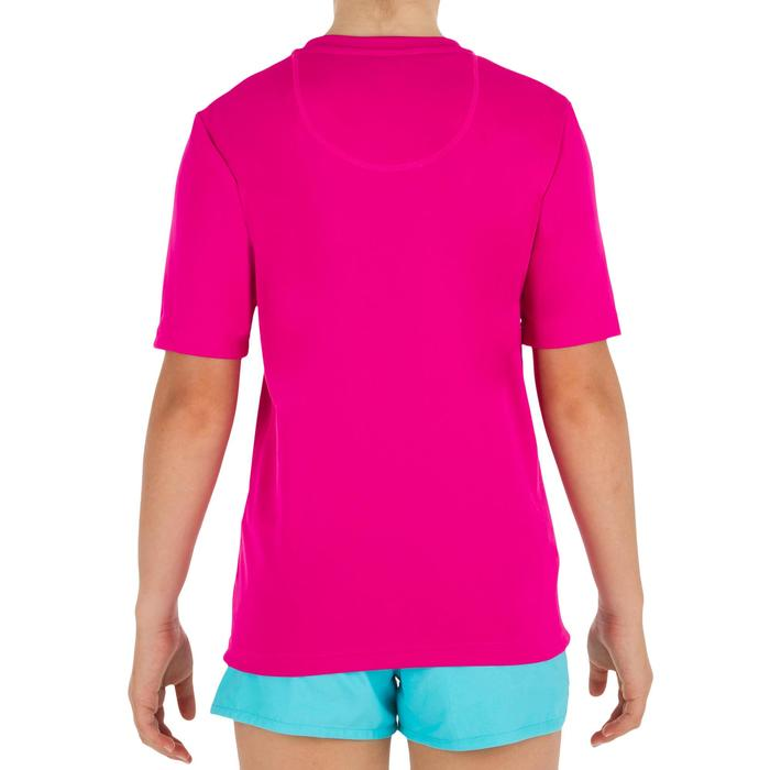 water tee shirt anti UV Surf manches courtes Enfant Rose