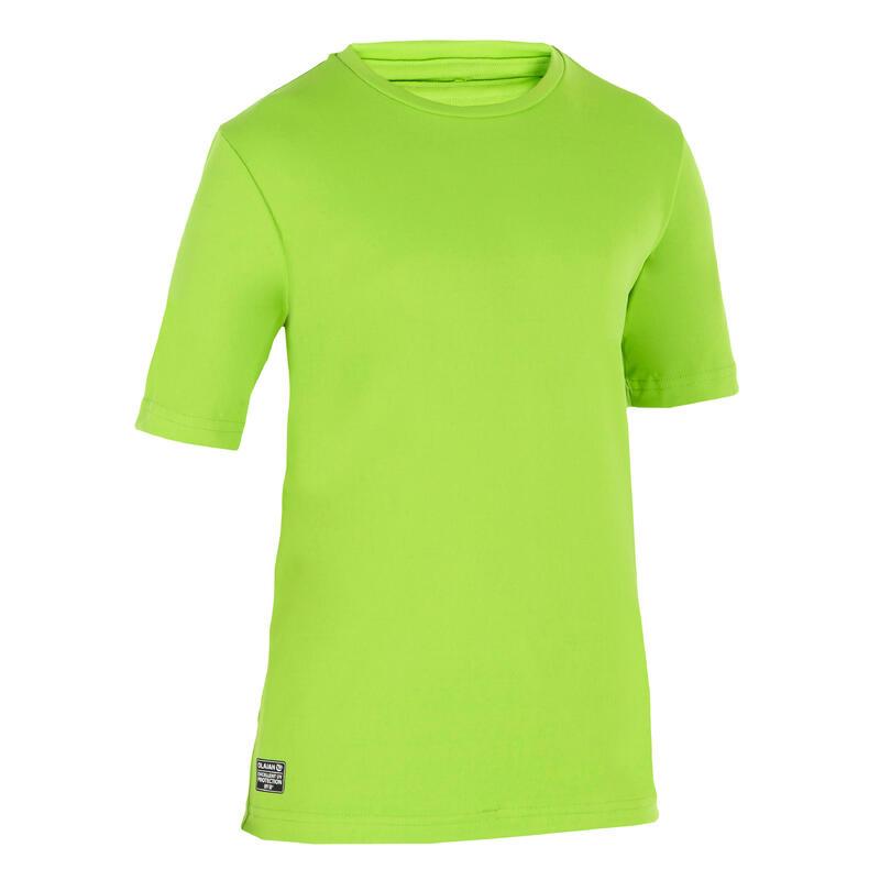 Camiseta Protección Solar Niños Olaian Verde