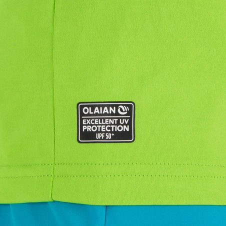 Bērnu UV aizsardzības T krekls, zaļš