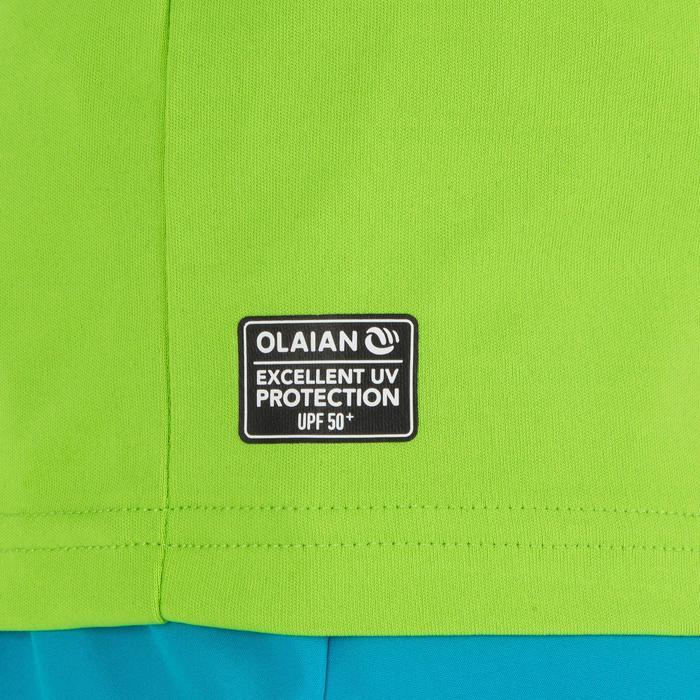 UV shirt kind korte mouwen groen