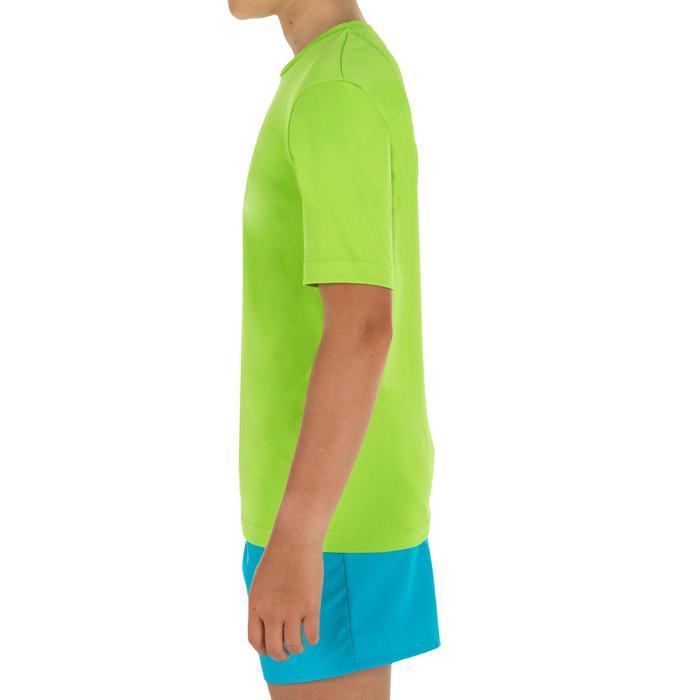 Top Camiseta Proteción Solar Playa Surf Olaian Niño Verde Rana ANTI-UV