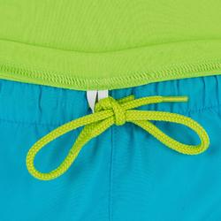 water tee shirt anti UV surf manches courtes enfant vert