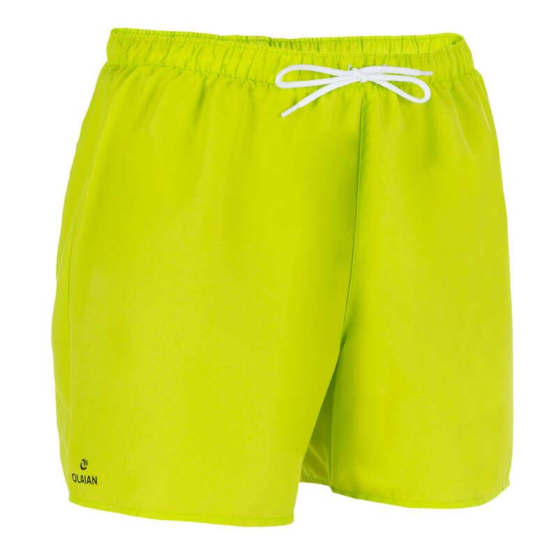 MEN'S BEGINNER BOARDSHORTS Swimwear and Beachwear - Hendaia S Boardshorts NT Green OLAIAN - Swimwear and Beachwear