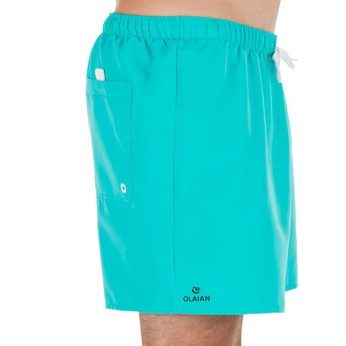 Korte boardshort Hendaia NT turquoise
