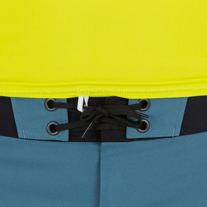 UV-Shirt kurzarm Surfen 100 Herren gelb