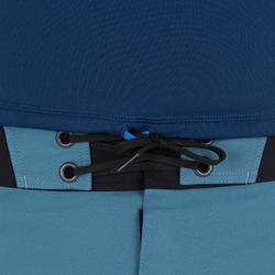 Thermische en uv-werende rashguard 900 met korte mouwen voor heren blauw