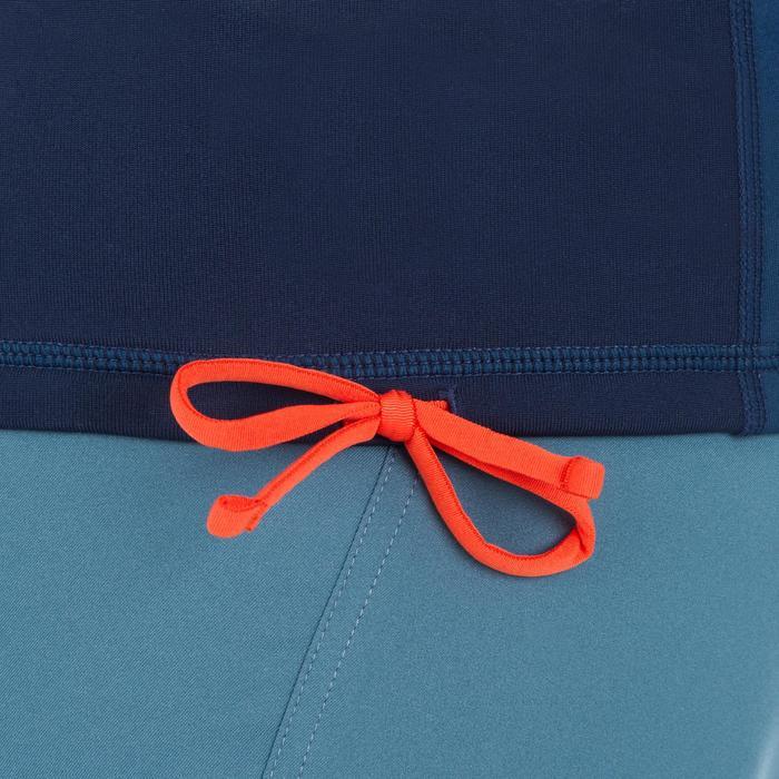 Tee shirt anti UV surf top 900 thermique polaire Manches Longues Homme Bleu