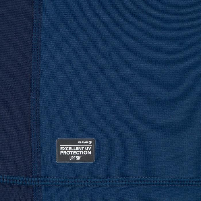 Tee shirt anti UV surf top 900 thermique polaire Manches Longues Homme Bleu - 1306717