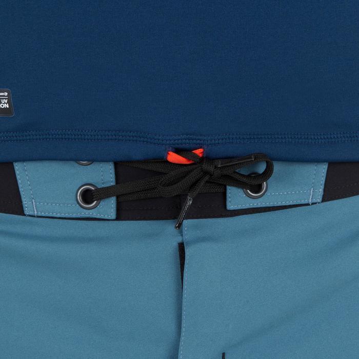 Tee shirt anti UV surf top 900 thermique polaire Manches Longues Homme Bleu - 1306720