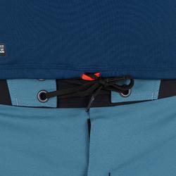Top Camiseta Proteción Solar Playa Surf Olaian Top900 Hombre Azul ANTI-UV