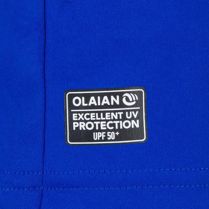 UV-Shirt Surfen kurzarm Herren blau