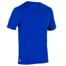 Men's Half Sleeve UV Protection Surfing Top T-Shirt - Blue