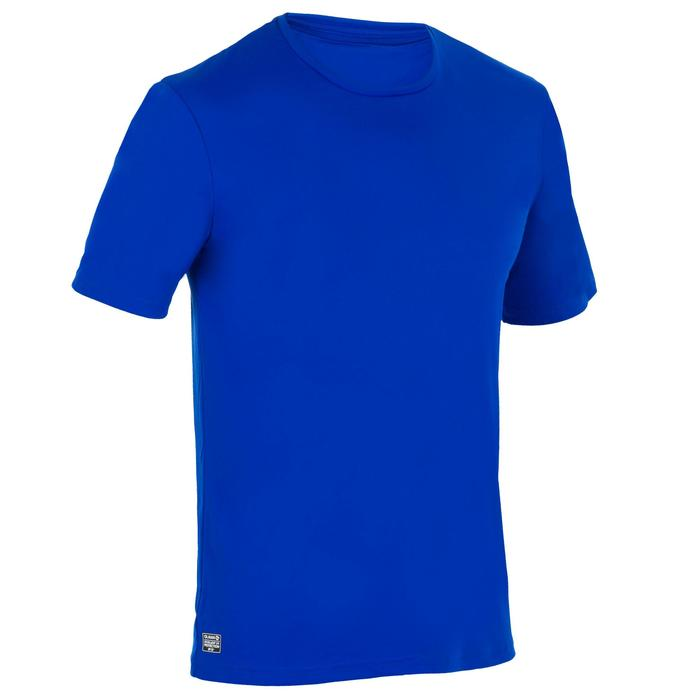 Water camiseta anti UV surf manga corta hombre azul