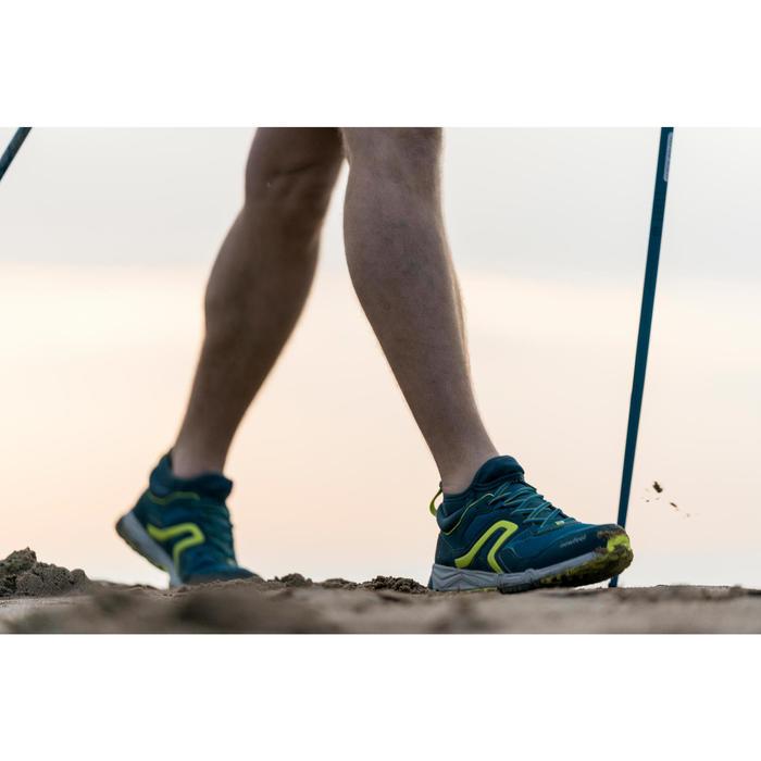 Nordic Walkingschuhe NW500 FlexH Herren blau/neongrün