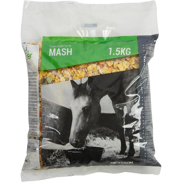 Complément alimentaire pour chevaux et poneys FOUGAMASH - 1,5 KG - 1306884