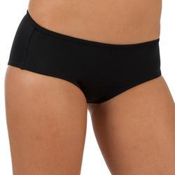 Bikinibroekje in shortymodel met aantrekkoordje Vaiana zwart